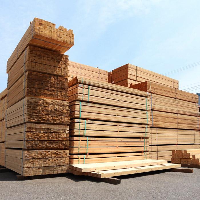 桟木 ・エゾ松(トド) ・米松 ・赤松 ・唐松 ・栂 ・ラワン |大一木材